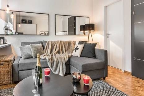 Elegant and practical brand new apartment in the center of Geneva. Enjoy a nice, furnished and fully equipped studio with mod