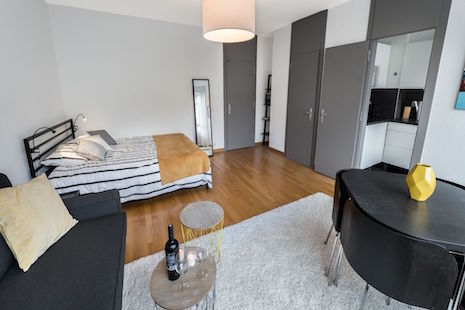 Nice Furnished Two Room Apartment, Close to the Train Station