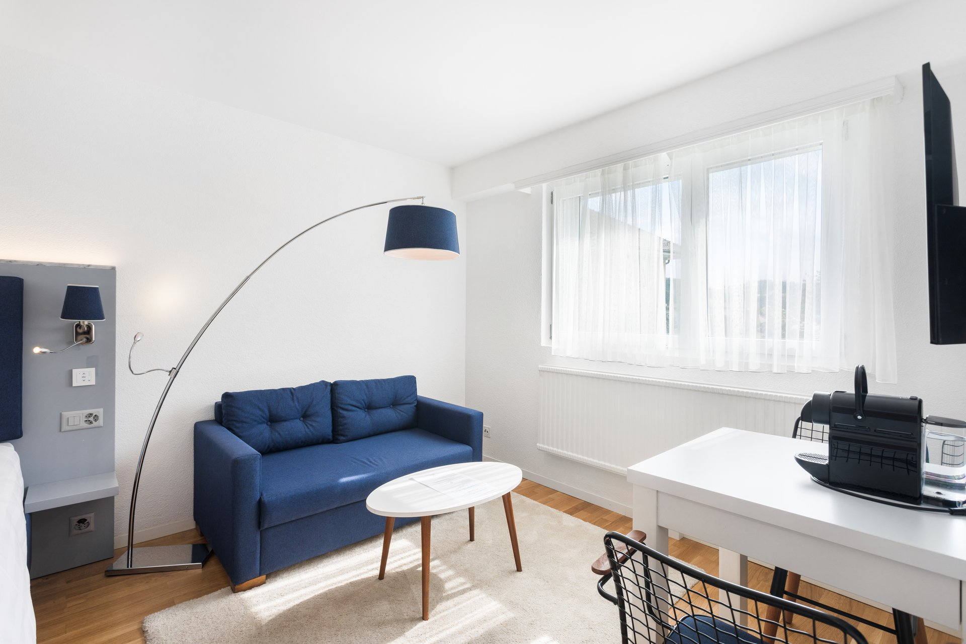 Ideally located, this eco-friendly residence remain close to the city center of Lausanne, with a close access to the Parc of